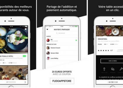 On a testé Fudo, la nouvelle appli incontournable de réservation de restaurants sur mobile