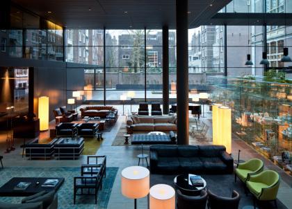 Le Conservatorium, audacieux palace des temps modernes à Amsterdam