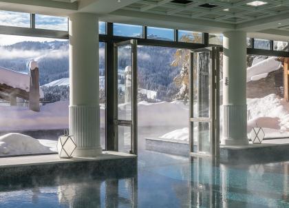 Alpes : les plus beaux spas de Megève