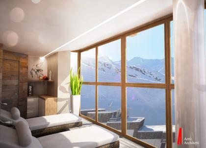 Les premières images prometteuses du Pashmina, nouveau refuge de luxe à Val Thorens