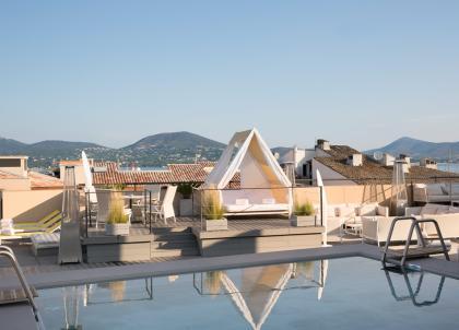 L'Hôtel de Paris Saint-Tropez : le luxe contemporain sur la Côte d'Azur