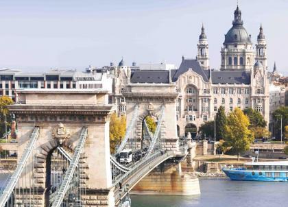 Four Seasons Gresham Palace : le plus bel hôtel de Budapest