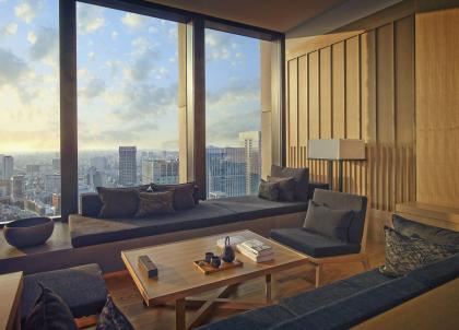 Aman ouvre un spectaculaire hôtel urbain à Tokyo