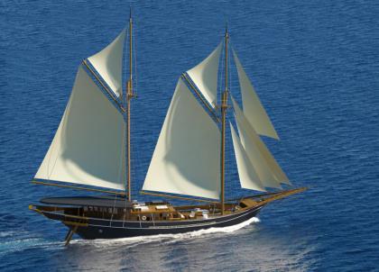 Aman dévoile l'Amandira, un voilier de rêve naviguant au large de l'Indonésie