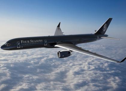 Four Seasons dévoile son jet privé pour des voyages toujours plus luxueux