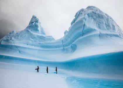 Apnée et ski en Antarctique : une expérience unique au monde signée GNGL