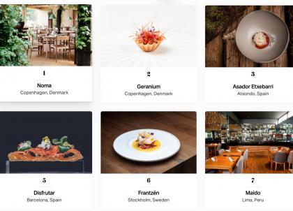 """""""World's 50 Best"""" : Noma est le « meilleur restaurant du monde » en 2021"""