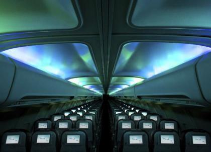 Des aurores boréales à bord des avions d'Icelandair !