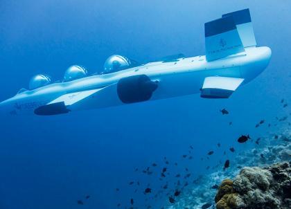 Aux Maldives, Four Seasons lance son propre sous-marin en exclusivité mondiale