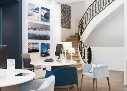 La compagnie de croisières Ponant dévoile le « Pavillon », un vaste espace en plein cœur de Paris