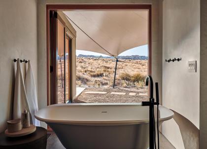 Amangiri dévoile Camp Sarika, luxueux campement dans le désert de l'Utah