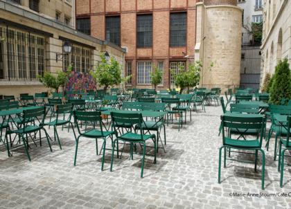 Au coeur du Marais, le Café Cour, terrasse éphémère et secrète de l'été