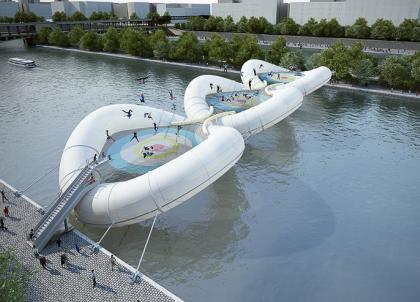 Le pont le plus cool du monde verra-t-il le jour à Paris ?