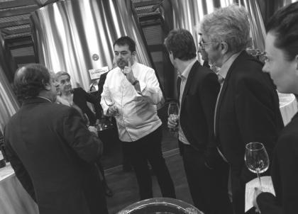 Jean-François Piège à Saint-Émilion : « Il n'y a pas de grand repas sans – grands – vins. »