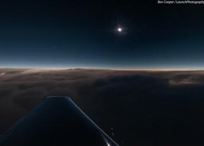 En mars 2015, une éclipse solaire visible depuis le Nord... ou en jet privé