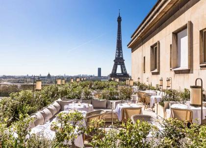La Suite Girafe, le nouveau rooftop chic de la Cité de l'architecture et du patrimoine