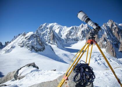 La plus grande photo du monde (365 gigapixels) représente le Mont Blanc