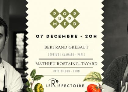 Pop Up Med, les dîners évènementiels de la nouvelle garde culinaire française à Marseille