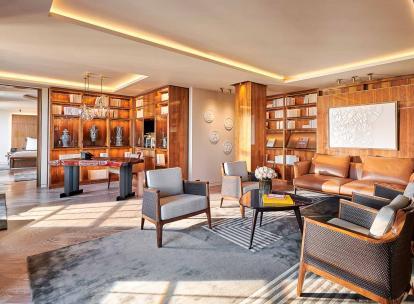 Hôtel Lutetia : à l'intérieur de la Suite Présidentielle Carré Rive Gauche