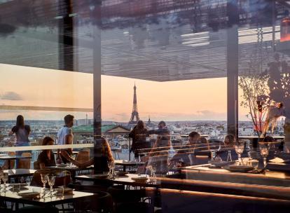 Paris : On a testé Tortuga, sur le rooftop des Galeries Lafayette Haussmann