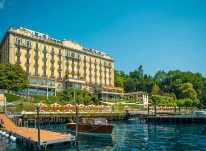 Le Grand Hotel Tremezzo, joyau historique du lac de Côme