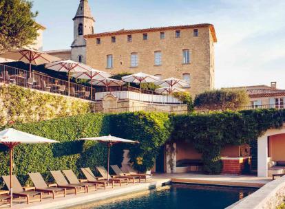 L'hôtel Crillon le Brave: un havre de paix face au Mont-Ventoux