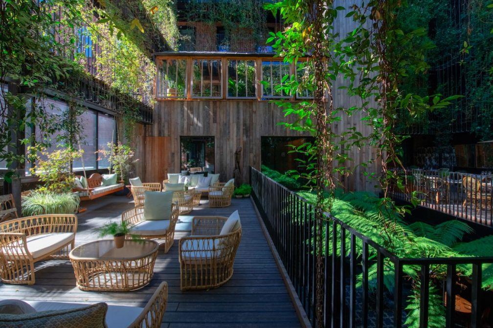 The Mandrake Hotel : luxe vert et design original au coeur de Londres © The Mandrake Hotel