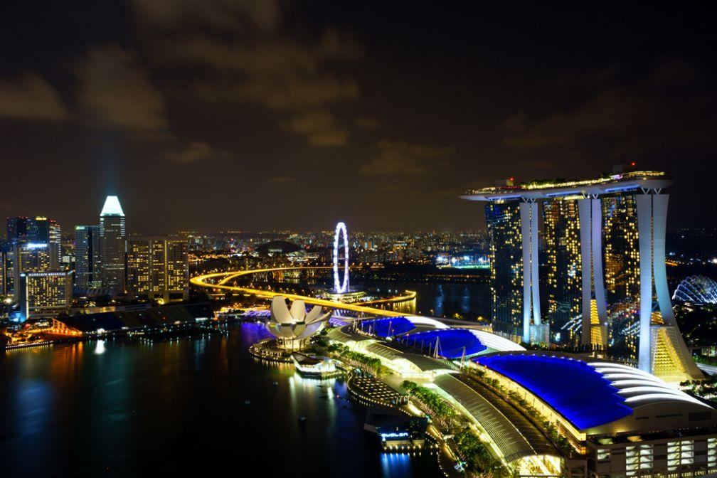 Bienvenue à Singapour ! Les vues sur Marina Bay Sands sont impressionnantes depuis le bar LeVel 33 | Avec l'aimable autorisation de ##Grafixen@@http://www.flickr.com/grafixen