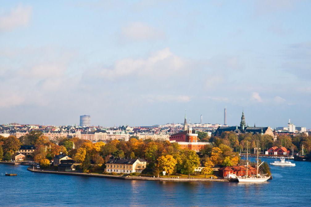 La petite île de Kastellholmen, à ne pas rater lors de son passage sur Skeppsholmen © Visit Stockholm
