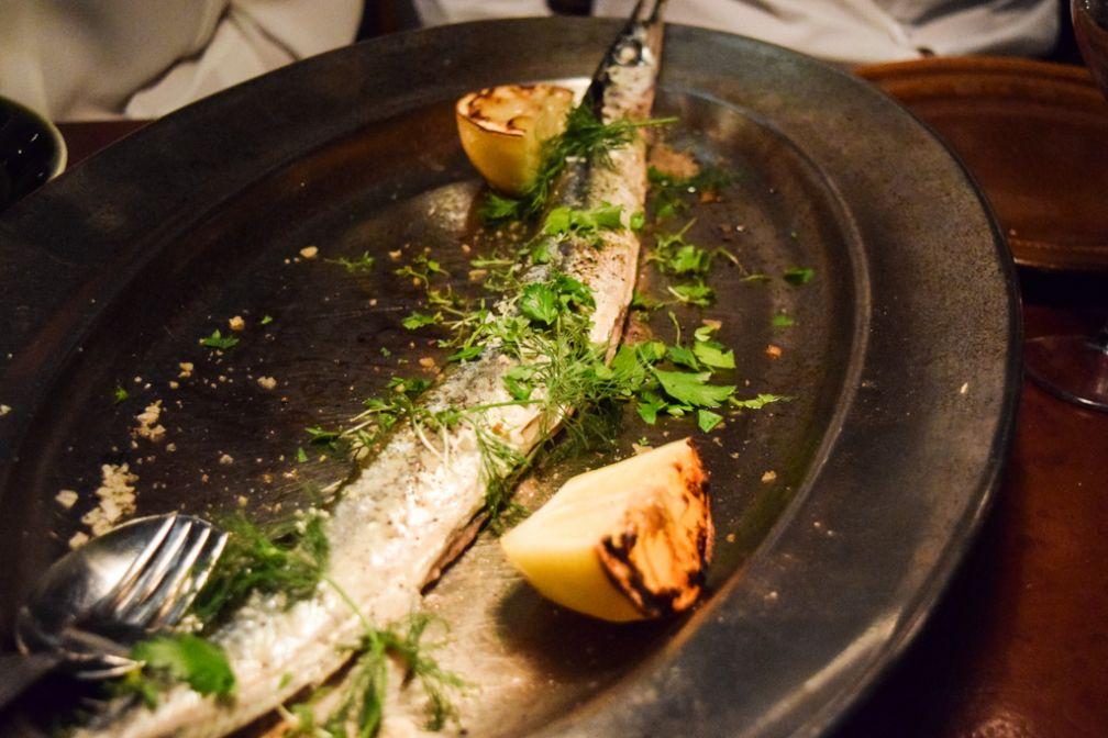 Les poissons entiers, spécialités d'Oaxen Slip | © Yonder.fr
