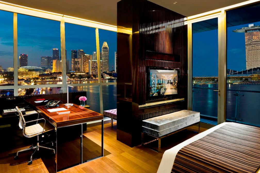 L'hôtel dispose de suites parmi les plus spectaculaires de Singapour | © The Fullerton Bay Hotel
