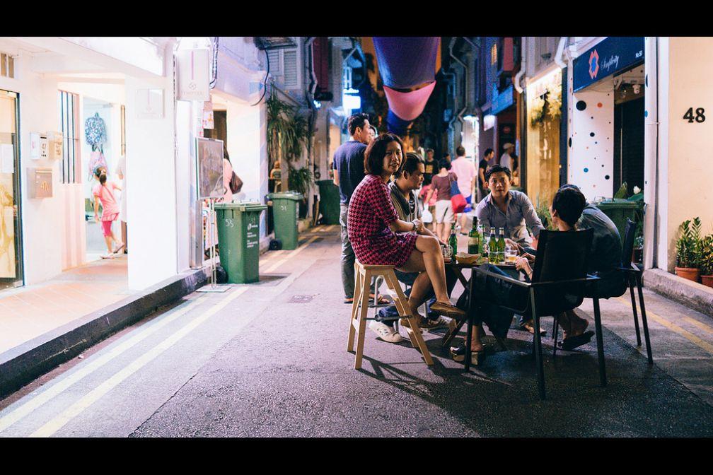Haji Lane, un spot incontournable pour découvrir une autre facette de Singapour | Avec l'aimable autorisation de ##Grafixen@@http://www.flickr.com/grafixen