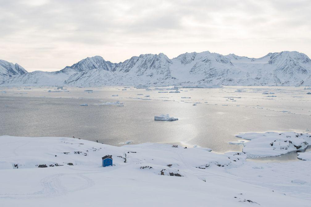 Le majestueux site d'Ukiverajik, en bordure du fjord de Sermilik.