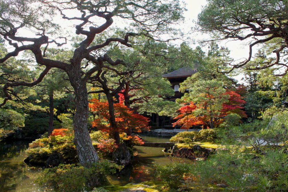 Jardins du Pavillon d'Argent à Kyoto | © Aurélie Morin