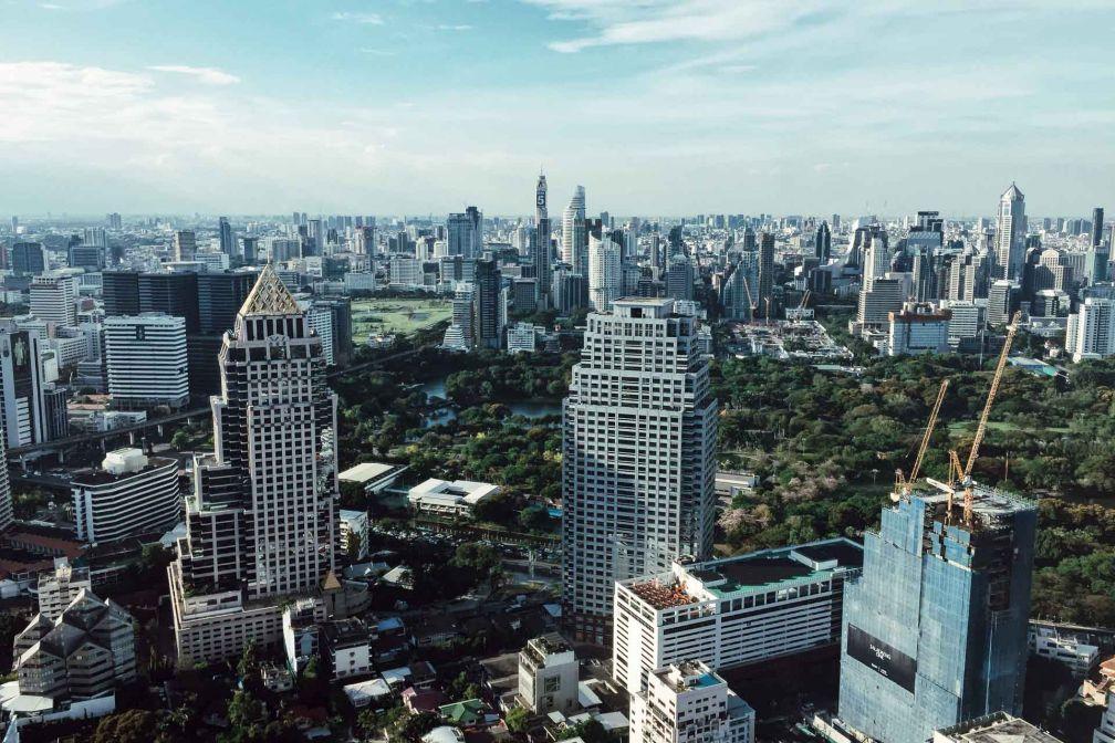Vue de Bangkok depuis le rooftop Vertigo & the Moon bar © Constance Lugger