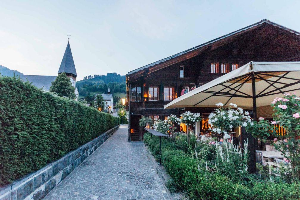 La terrasse du 16eme Bar à Gstaad © Patrick Gerber