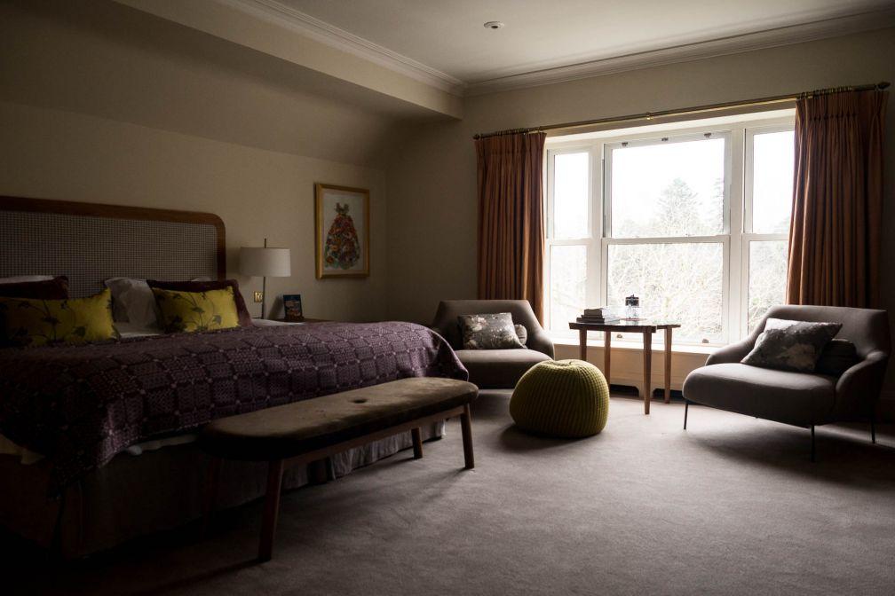Sobres, confortables et décorées avec soin, les chambres de l'hôtel sont toutes uniques © Alix Laplanche