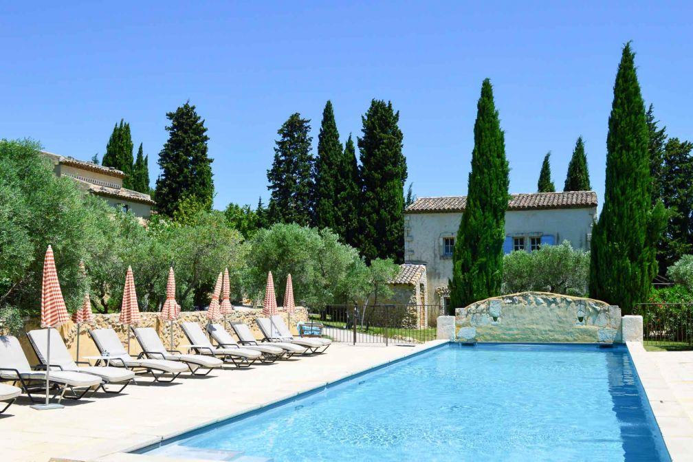 La piscine de 16 mètres par 5, idéale pour les bains de soleil © Pierre Gunther