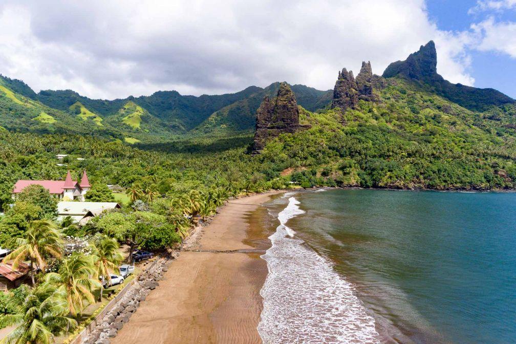 Hatihe'u est un village de Nuku Hiva, dans les îles Marquises © DR