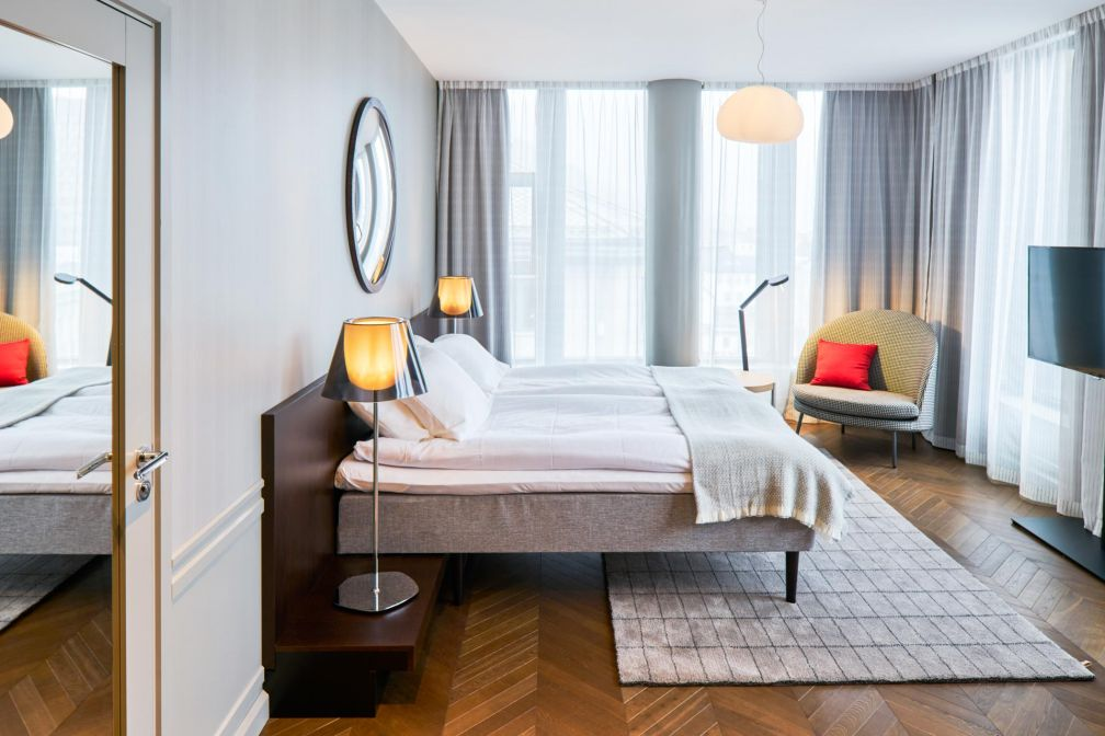 Les chambres du Bergen Børs Hotel sont, selon nous, les plus élégantes de Bergen © Bergen Børs Hotel