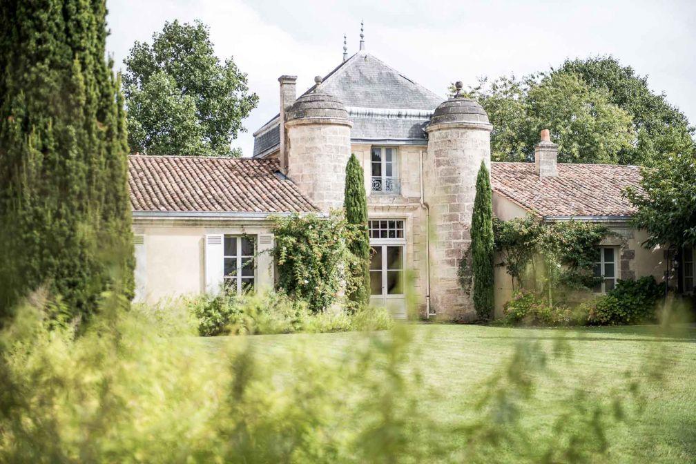 Le Château Cordeillan-Bages, célèbre propriété du Médoc à Pauillac © Anne-Emmanuelle THION