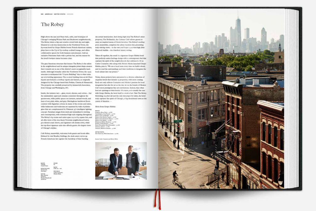 The Design Hotels Book 2017 : plus de 500 pages consacrées aux plus beaux hôtels design au monde © Design Hotels