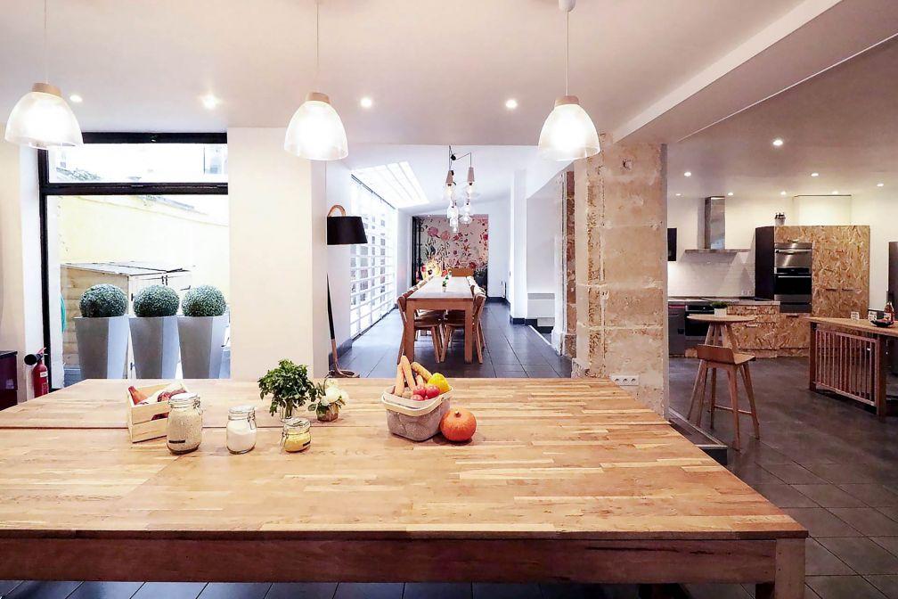 Pendant six mois, For the Love of Food investit un atelier de cuisine du 3ème arrondissement, dans le Marais © DR