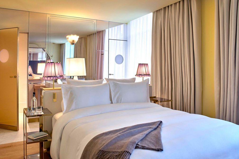 Décor sophistiqué et cosy dans chacune des 29 chambres et suites de l'hôtel 9Confidentiel © DR