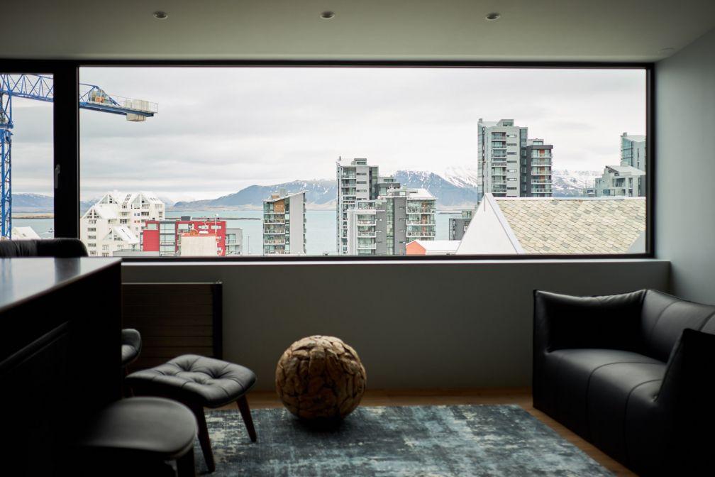 La Panorama Suite du ION City Hotel offre des vues spectaculaires sur les environs © ION City Hotel