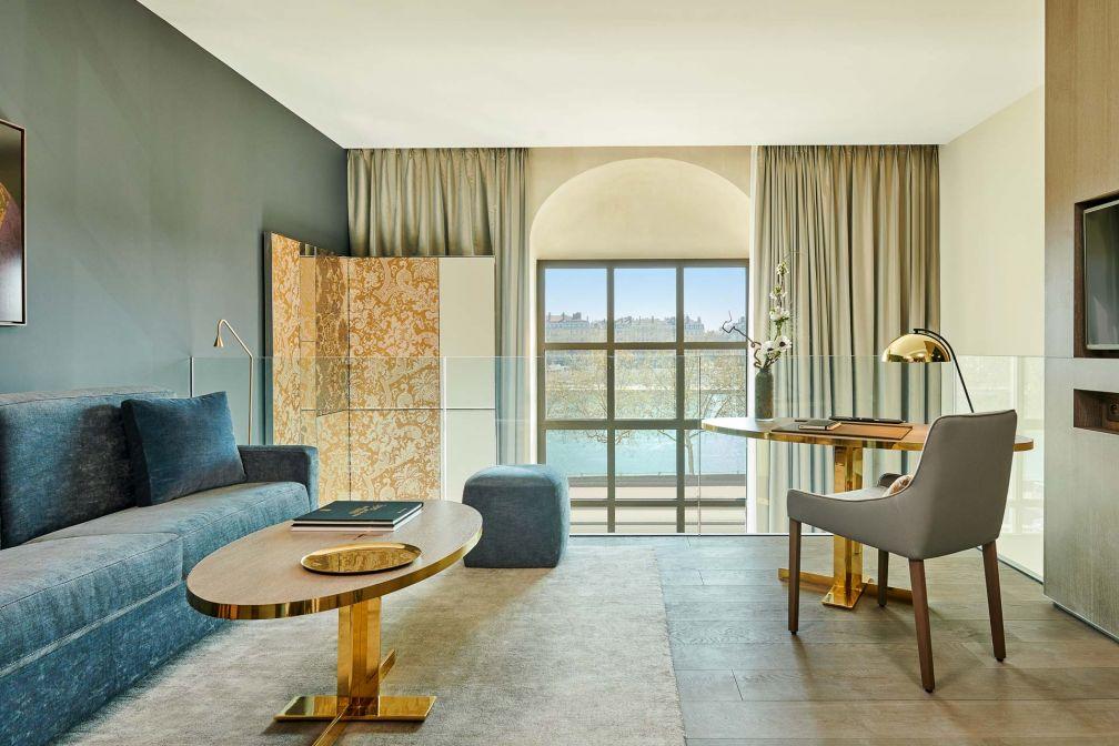 Les Suites Duplex sont emblématiques de l'architecture grandiose de l'InterContinental Lyon Hôtel-Dieu © Eric Cuvillier