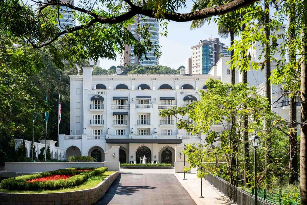 L'ouverture du Palácio Tangará était très attendue au Brésil et à São Paulo en particulier, sa capitale économique © Palácio Tangará