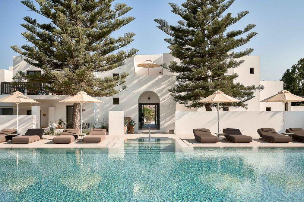 Sur l'île de Paros, Parīlio est le dernier-né des hôtels design de l'archipel grec des Cyclades © DR