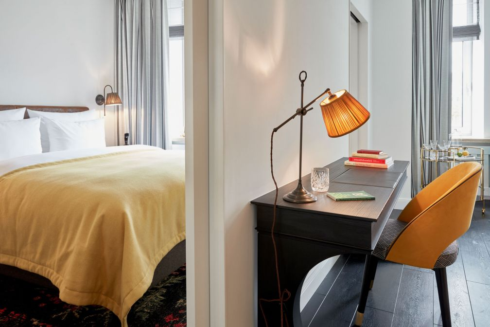À l'intérieur d'une chambre du SIR Nikolai Hotel à Hambourg © SIR Hotels