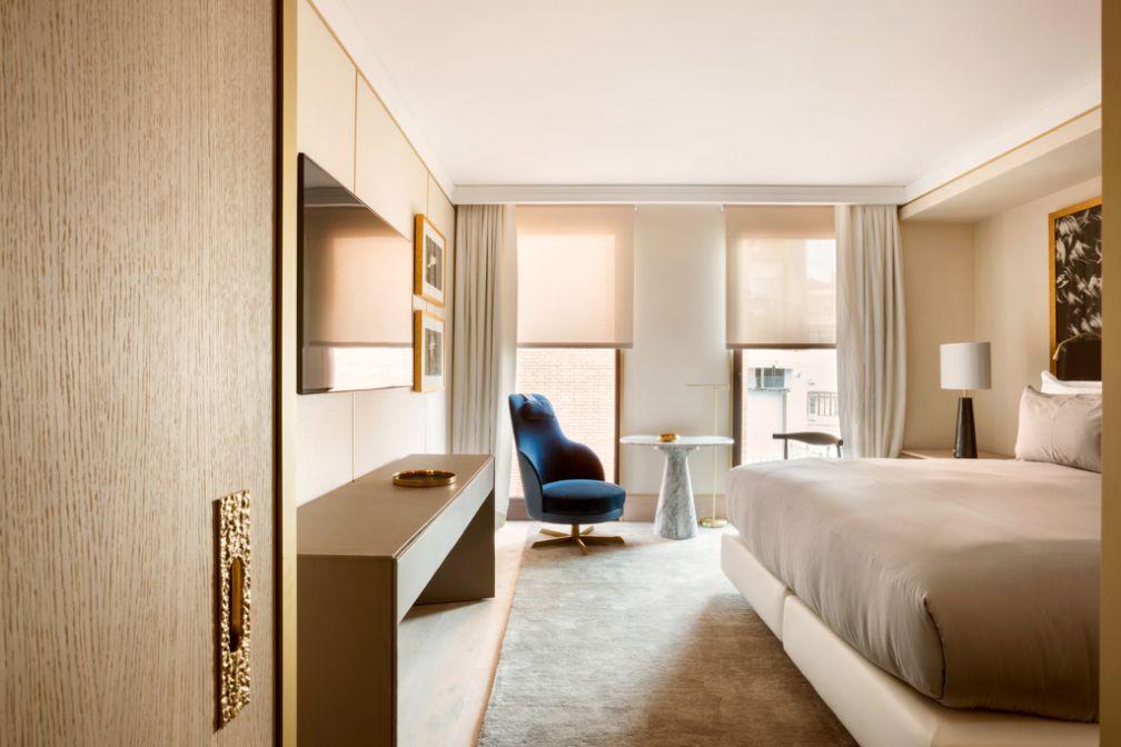 The One Barcelona, par l'enseigne hôtelière H10, est le premier hôtel 5-étoiles imaginé par Jaime Beriestain, star du design à Barcelone © Manolo Yllera